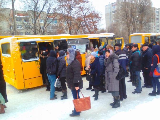 У Львові подорожчали маршрутки до 7 гривень. Пасажири готуються до пікету