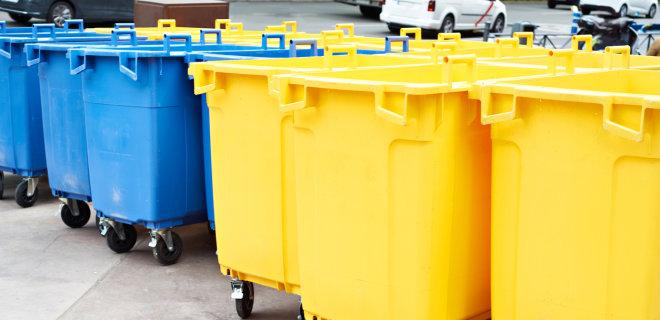Мешканцям Крихівців безкоштовно роздають сміттєві контейнери