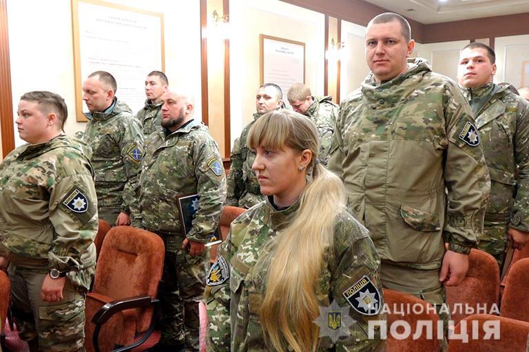 Поліціянти Прикарпаття повернулися додому зі зони ООС (ФОТО)