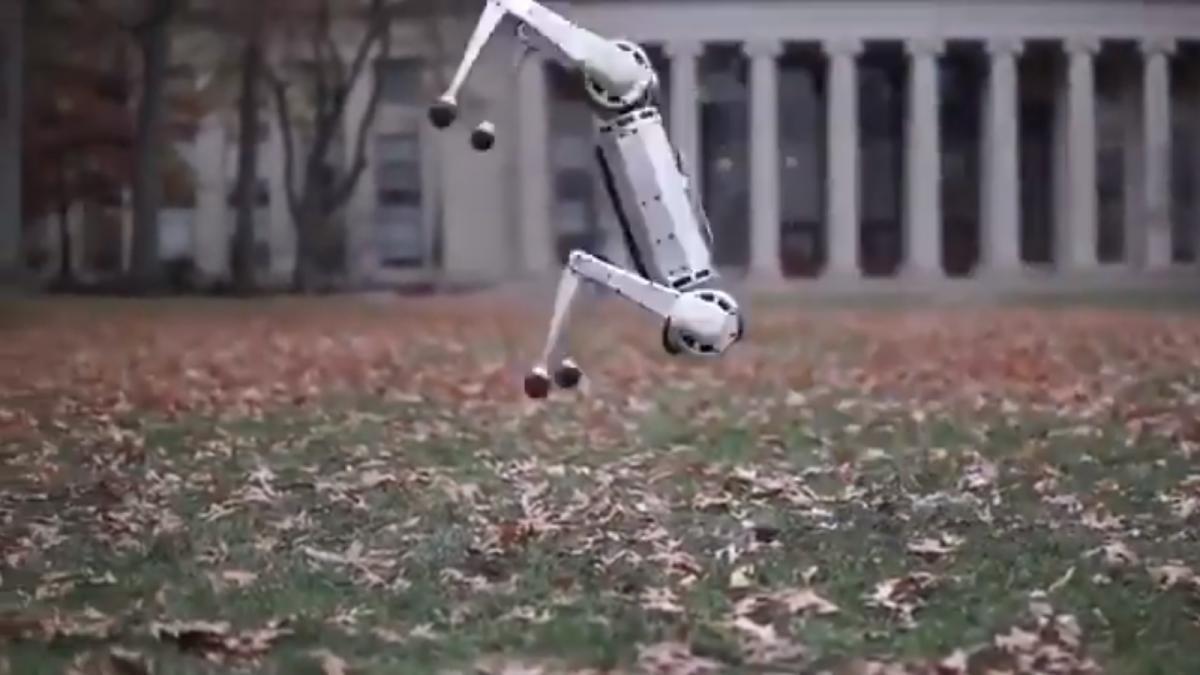 У США створили робота, який вміє робити сальто