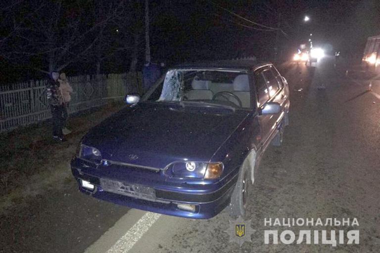 З'явилися фото й подробиці ДТП у Снятині, в якій загинула пенсіонерка