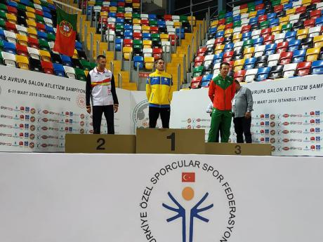 Прикарпатські паралімпійці здобули нагороди на чемпіонаті Європи