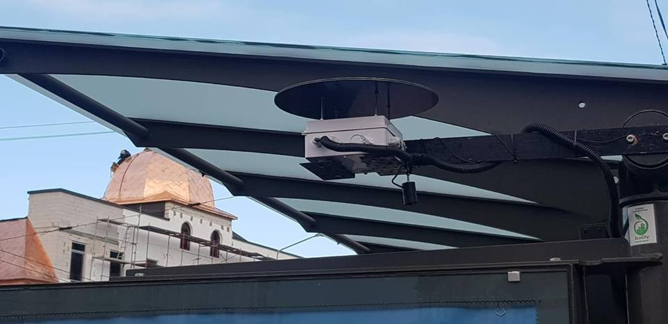 У Франківську встановили ще один пристрій моніторингу якості повітря (ФОТО)