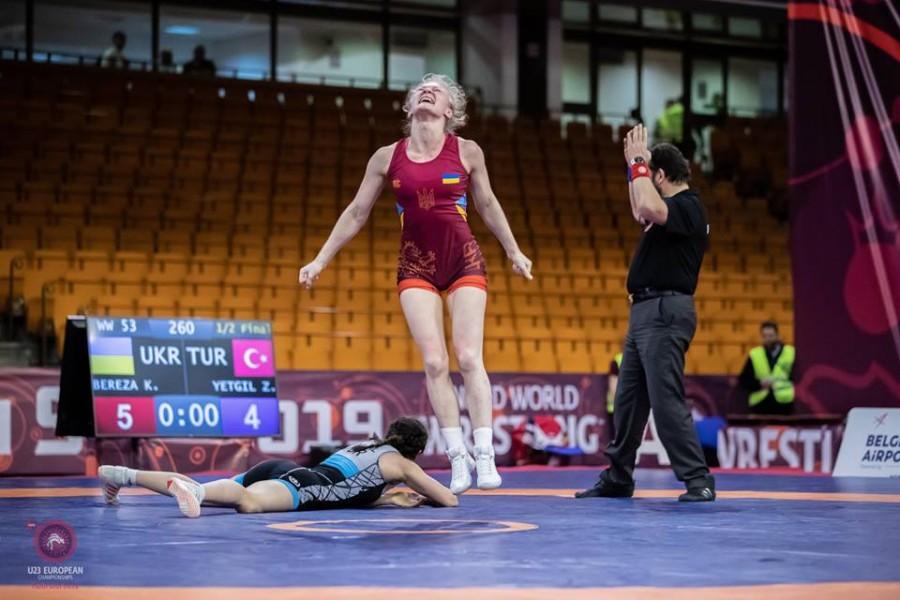 Калуська борчиня стала срібною призеркою чемпіонату Європи (ВІДЕО)