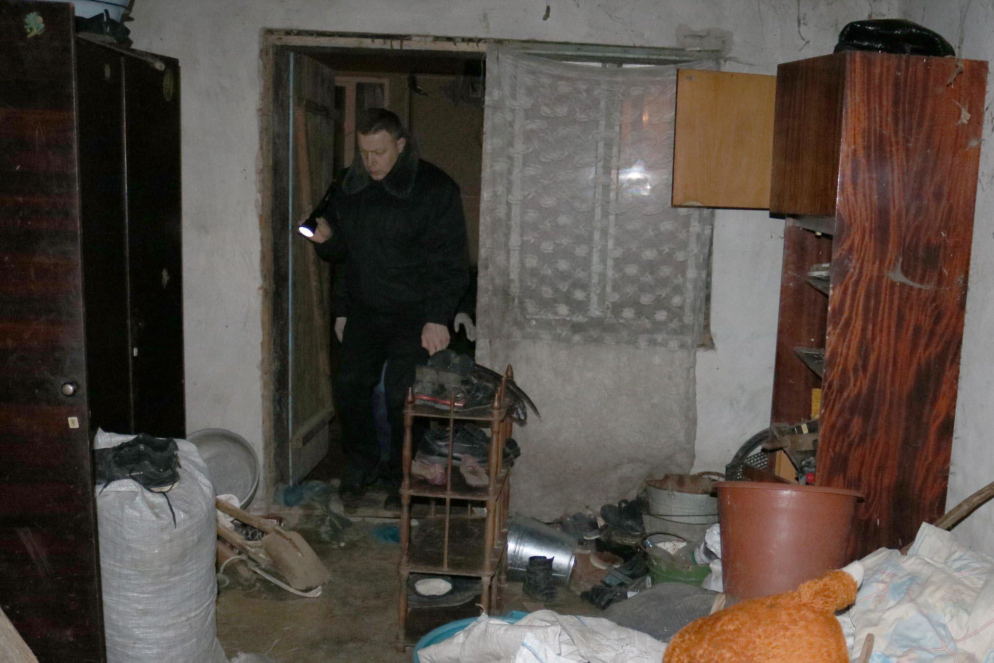У Галицькому районі селянин вбив свою матір (ФОТО)