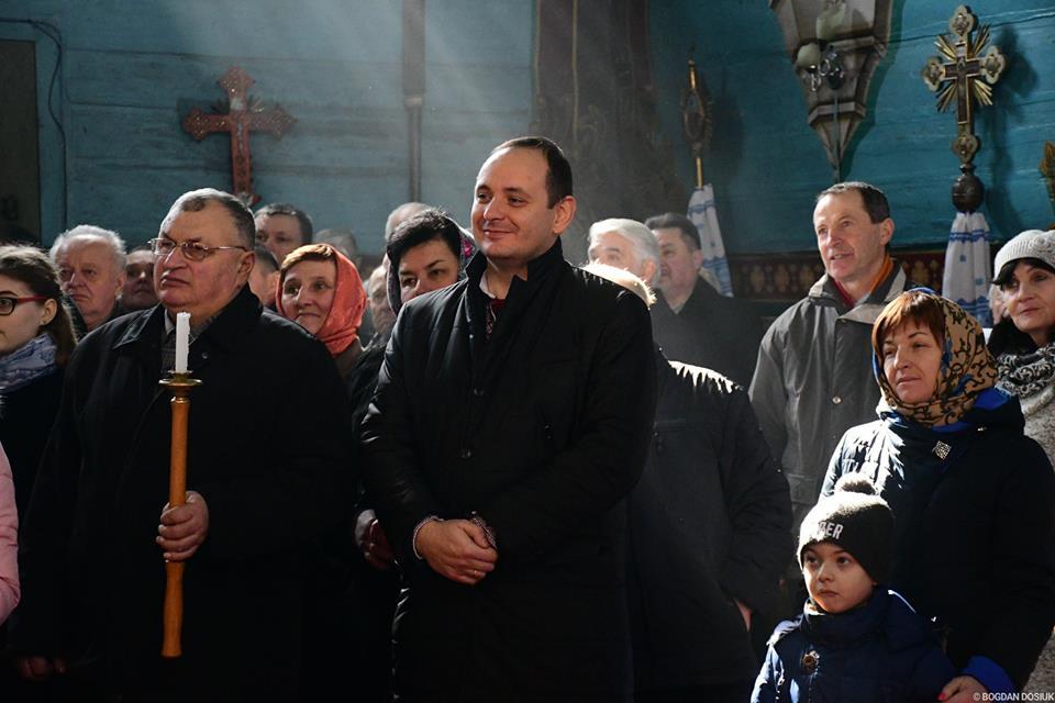 Марцінків агітував селян Підпечер за приєднання до Франківської ОТГ