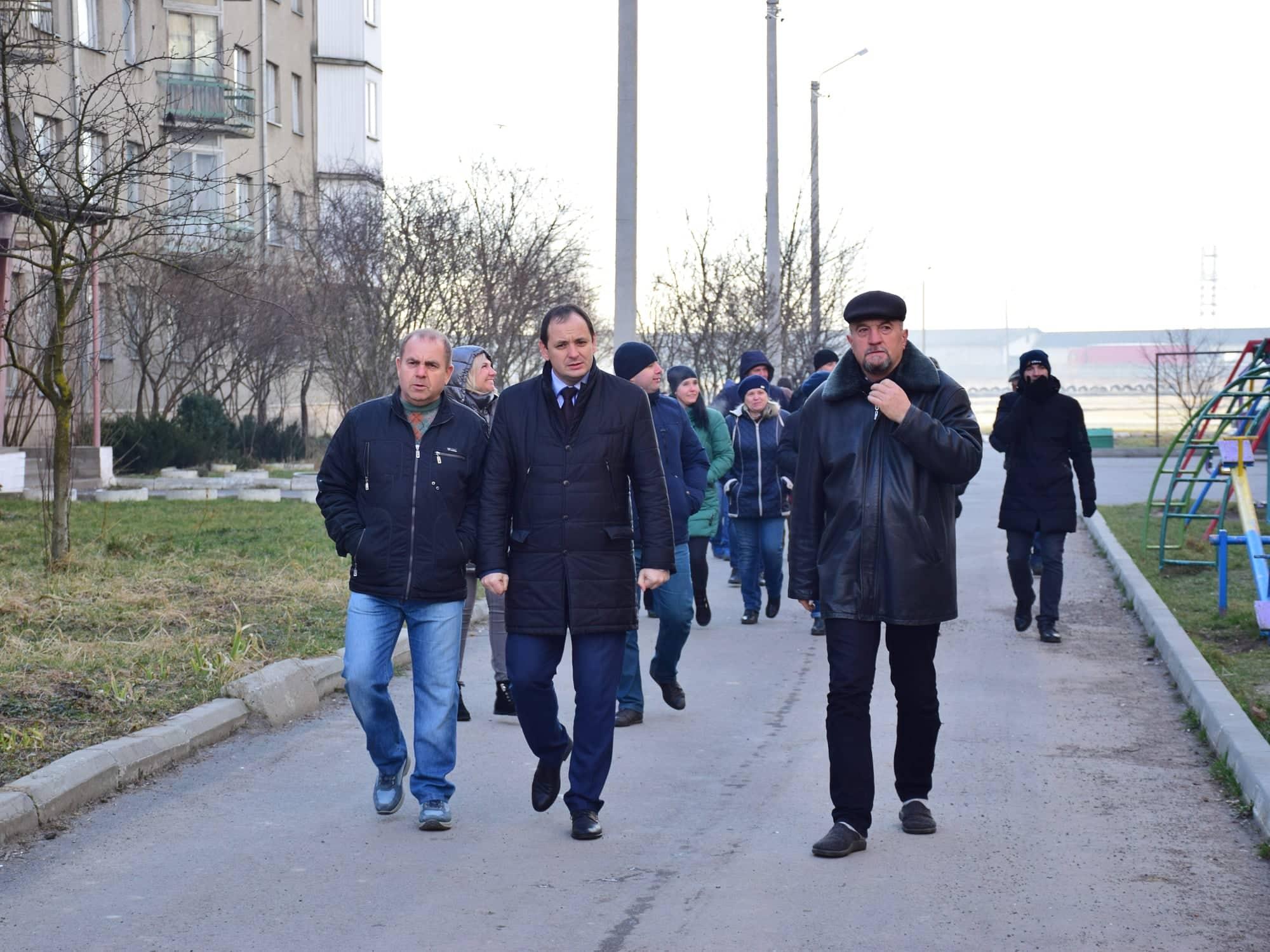 Марцінків вранці погуляв околицями міста (ФОТО)