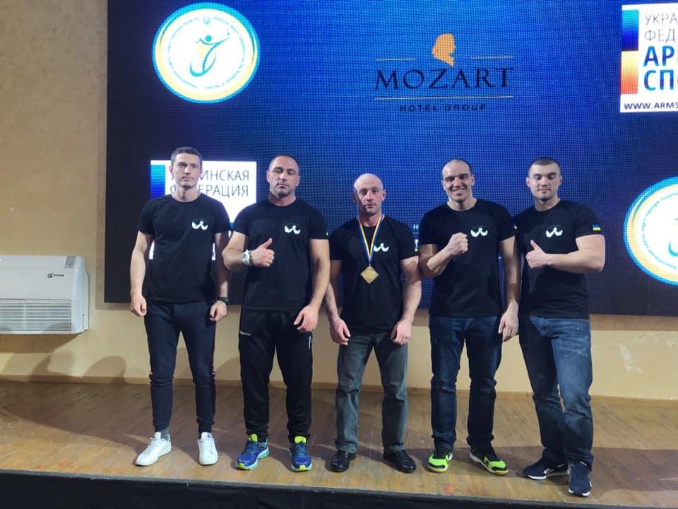 Прикарпатець став чемпіоном України з армспорту (ФОТО)