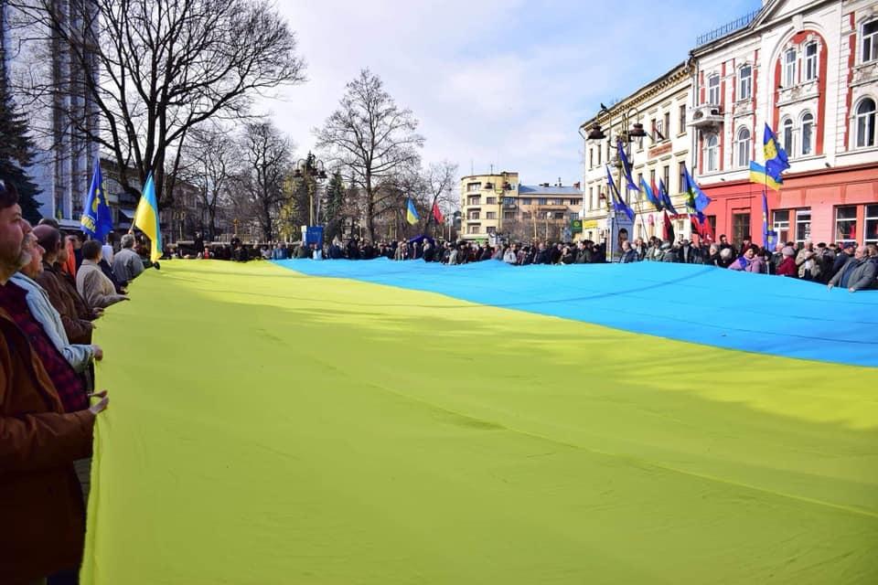 Віче за чесні вибори провели у середмісті Івано-Франківська  (фоторепортаж)