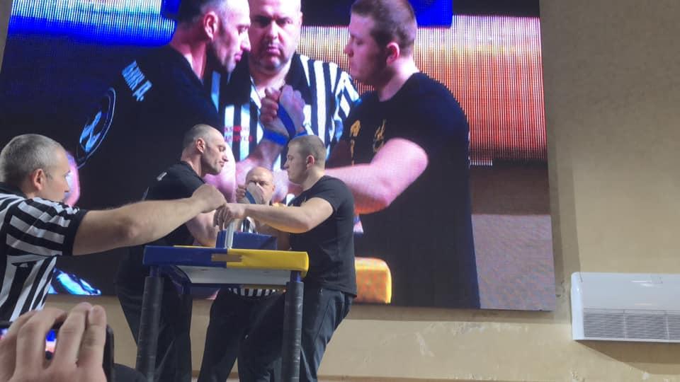 Прикарпатець став чемпіоном України з армспорту (фоторепортаж)