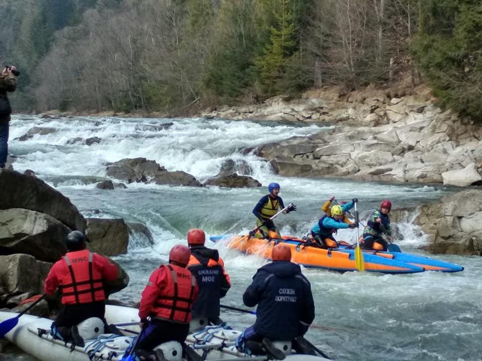 На Долинщині приймали змагання з водного туризму (ФОТО)