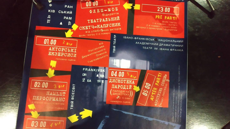 Party на п'ять дій: як у Франківську відзначать міжнародний День театру (ПРОГРАМА)