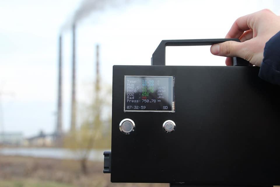 Поблизу Бурштинської ТЕС заміряли забруднення повітря. Виявили раптове перевищення радіації (ФОТО)