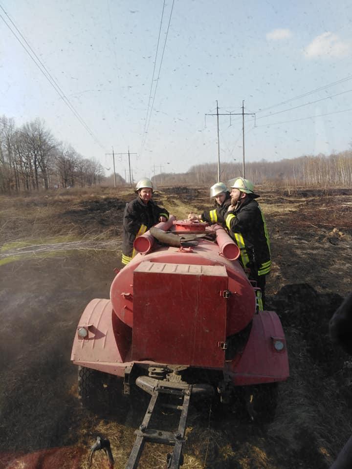 У Хриплині знову пожежа через стихійний вогонь – горить ліс (ФОТО)