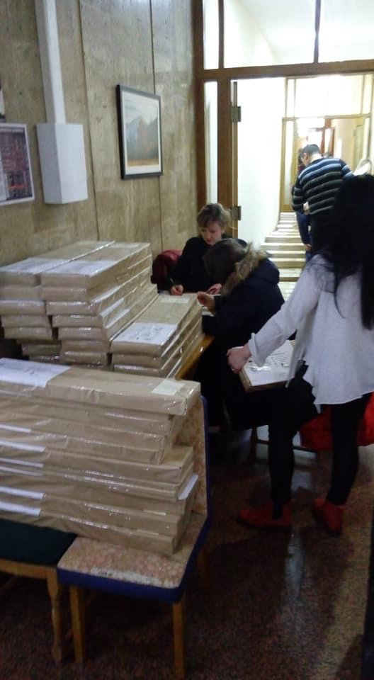 В Івано-Франківськ привезли 170 тисяч бюлетенів на президентські вибори (ФОТОФАКТ)