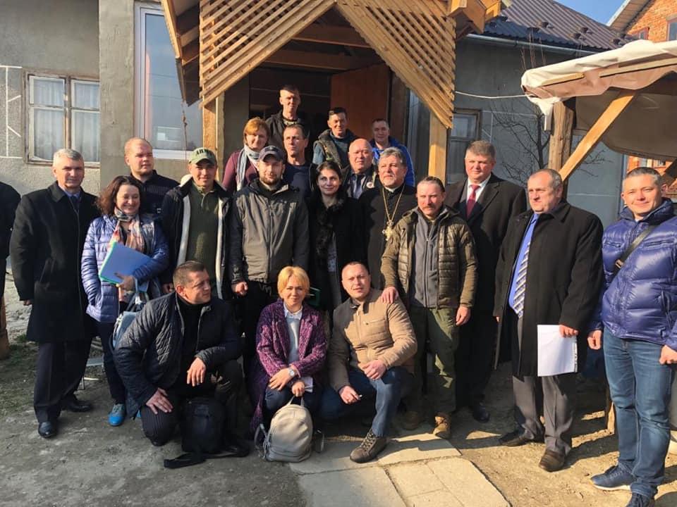 Міністр у справах ветеранів України обіцяє підтримувати«Бандерівський схрон» (ФОТО)