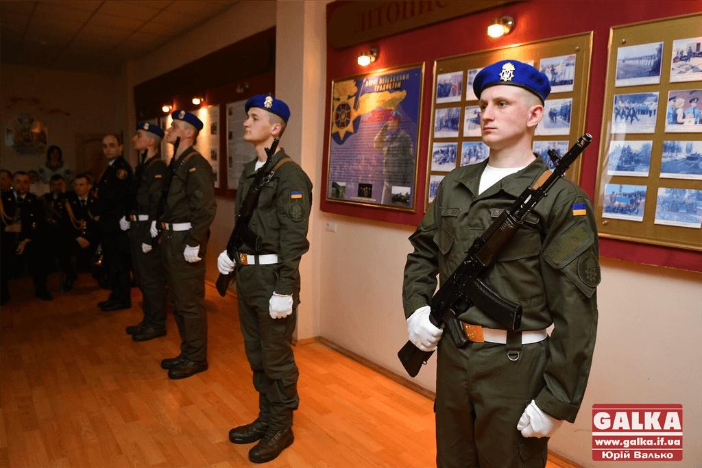 У Франківську урочисто відзначили п'яту річницю Національної гвардії України (ФОТО)