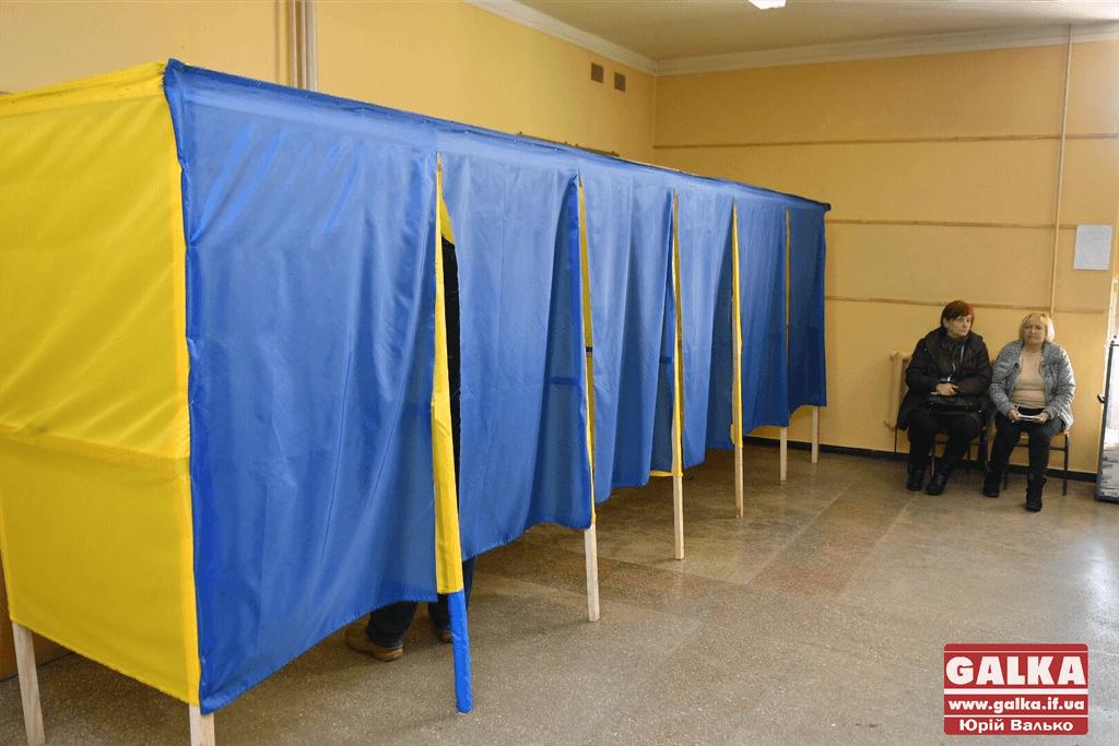 Другий тур виборів: всі дільниці на Прикарпатті запрацювали вчасно і без порушень
