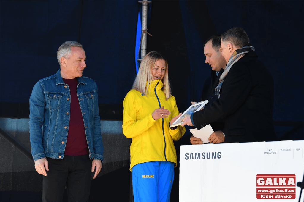 У Івано-Франківську нагородили кращу спортсменку року міста (фотофакт)