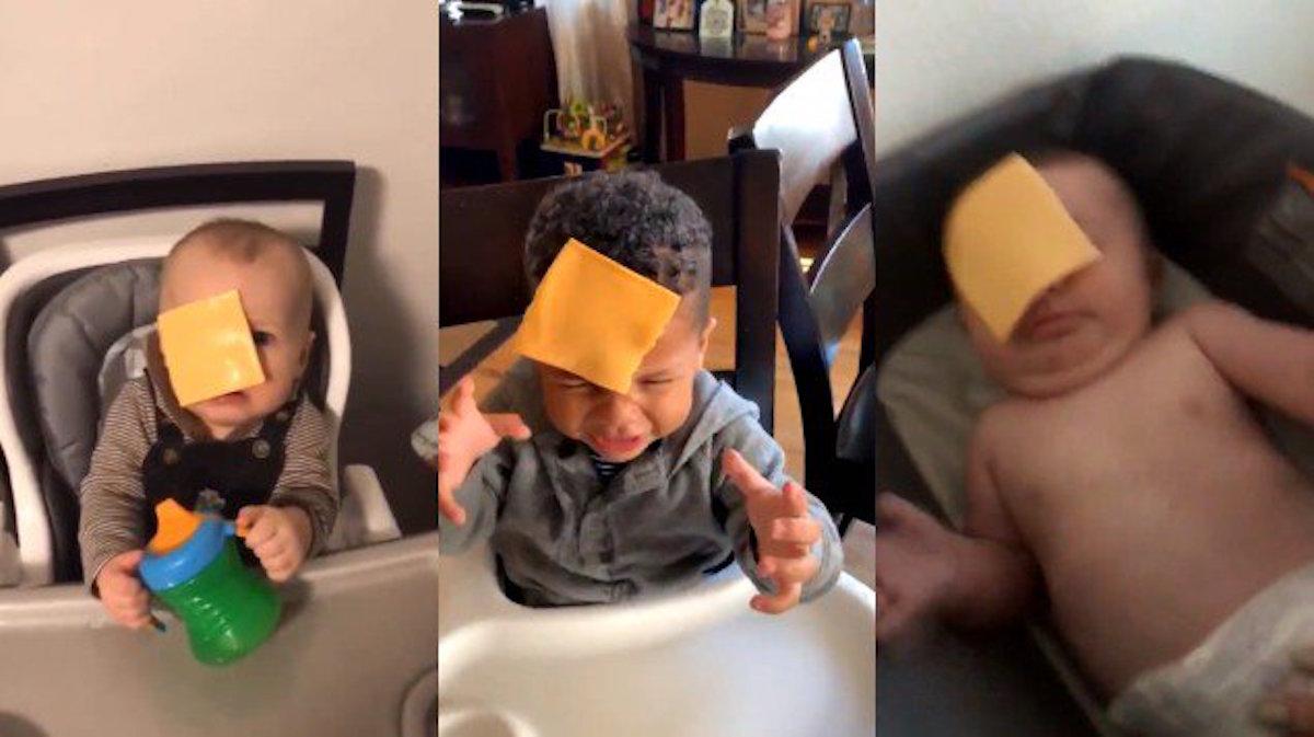 Кидають сир на обличчя дитині: батьки запустили дивний челендж у мережі