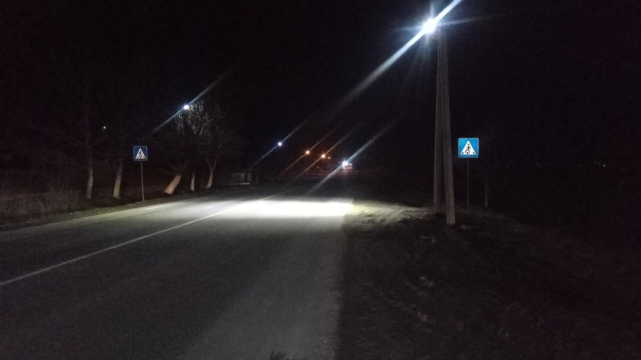 Аварійно-небезпечна ділянка поблизу Бурштинської ТЕС отримала освітлення (ФОТОФАКТ)