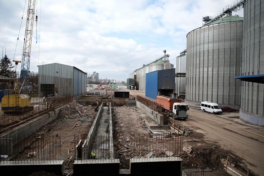 На Городенківщині будують новий елеватор (ФОТО)