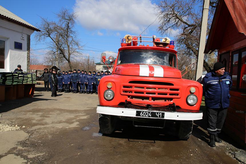 Рожнятівські рятувальники отримали нову бойову форму (ФОТО)