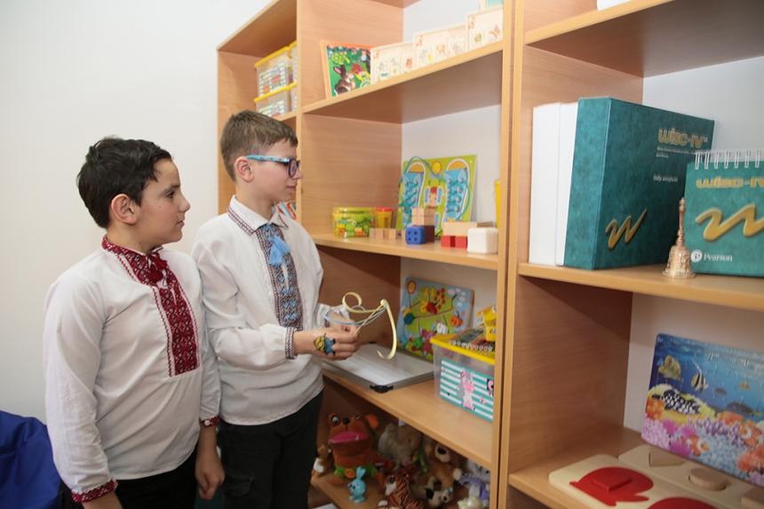 На Рожнятівщині відкрили оновлений інклюзивно-ресурсний центр (ФОТО)