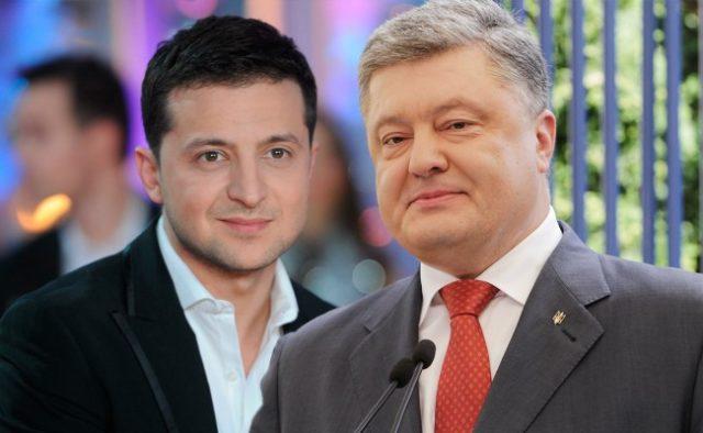 Зеленський і Порошенко учергове обмінялися звинуваченнями