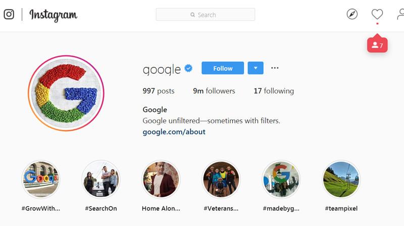 Аватаром Instagram-акаунту Google стала вишивка української майстрині (ФОТО)