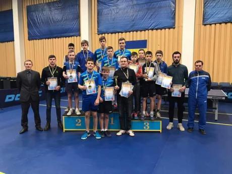 Друге місце посіли прикарпатські тенісисти на чемпіонаті України