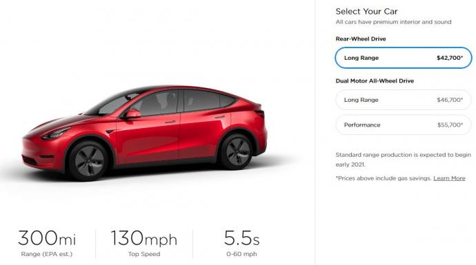 """""""Tesla"""" представила електромобіль """"Model Y"""" (ФОТО)"""