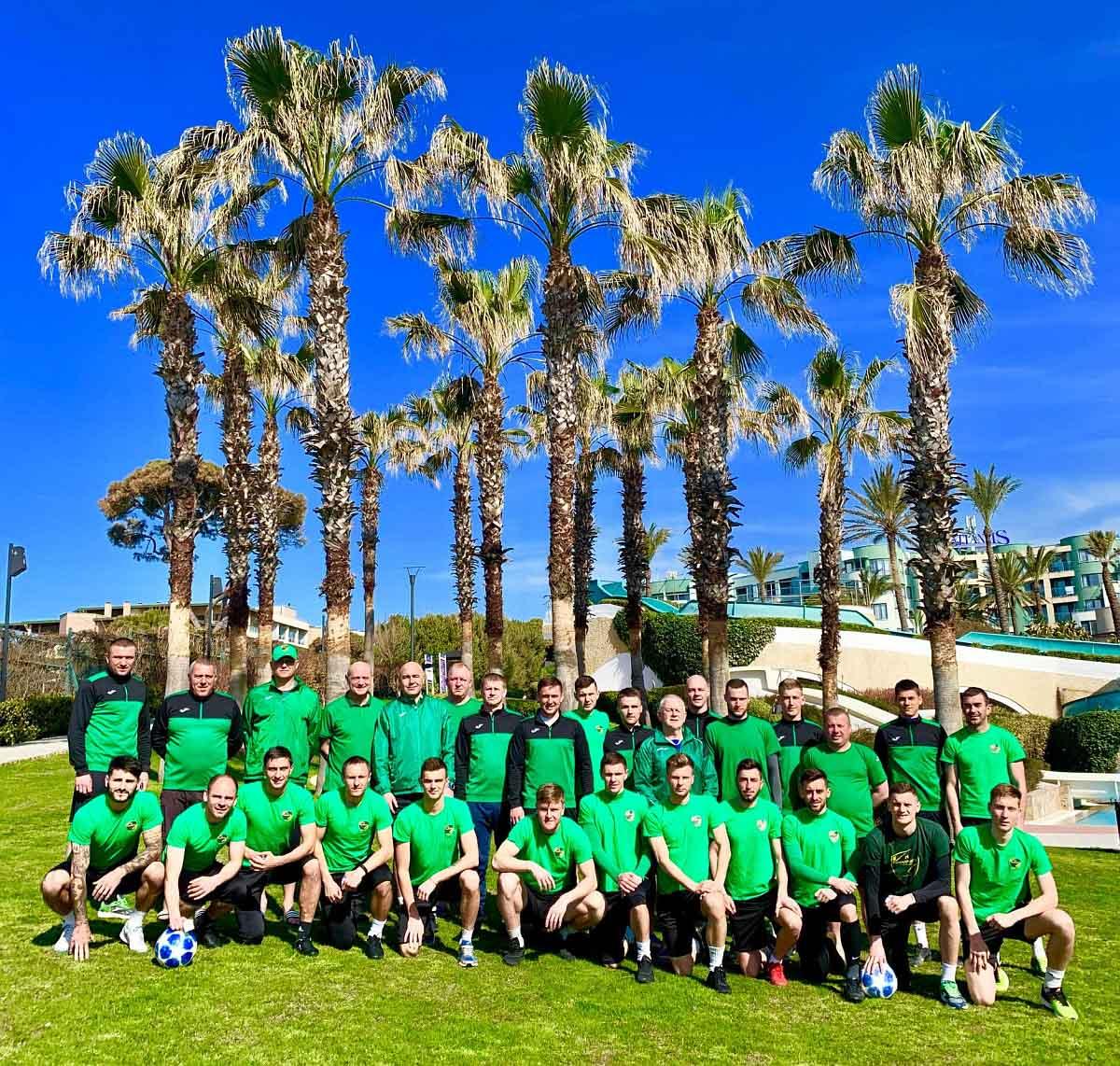 """Футболісти """"Прикарпаття"""" завершили турецькі збори перемогою над командою з Норвегії (ФОТО)"""