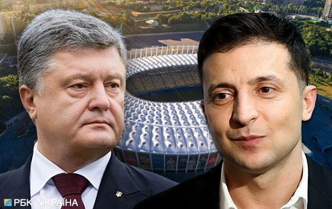 Голос соцмереж: що на Прикарпатті думають про стадіонні дебати Порошенка і Зеленського