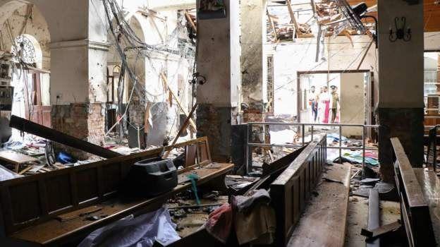 Сім вибухів на Шрі-Ланці. Загинули десятки людей