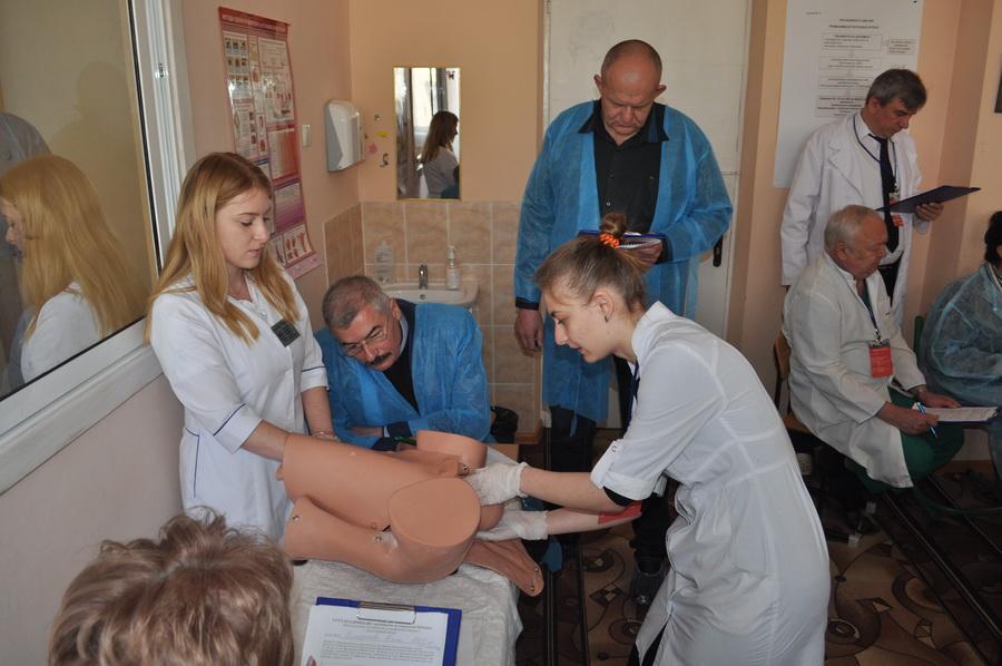 В  Івано-Франківську відбувається Всеукраїнська студентська олімпіада з акушерства та гінекології (ФОТО)