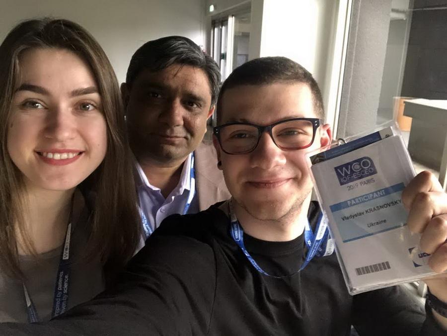 Студенти франківського вишу взяли участь у світовому науковому медичному конгресі в Парижі (ФОТО)
