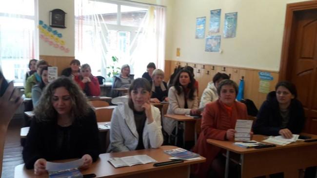 На Прикарпатті учнів та батьків вчили зупиняти булінг (ФОТО)