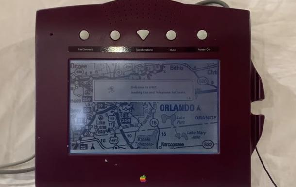 У мережі показали невипущений телефон Apple 1993 року (ВІДЕО)