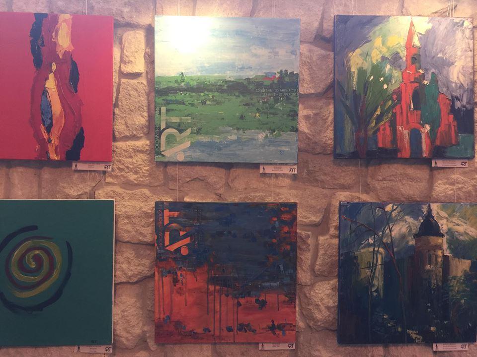 """Франківцям показали виставку сучасного мистецтва """"Коломия-Арт"""" (ФОТО)"""
