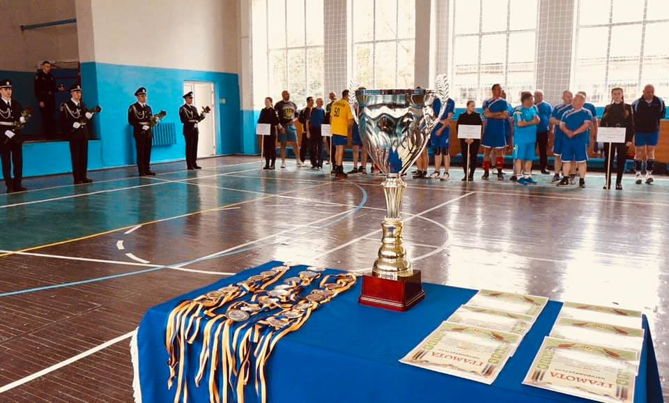 У Франківську до Дня створення Станіславської школи міліції провели волейбольний турнір (ФОТО,ВІДЕО)