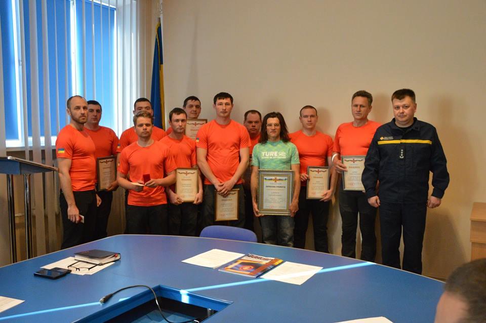 У Франківську відзначили гірських рятувальників і волонтерів, які допомогли туристам на Піп Іван (ФОТО)
