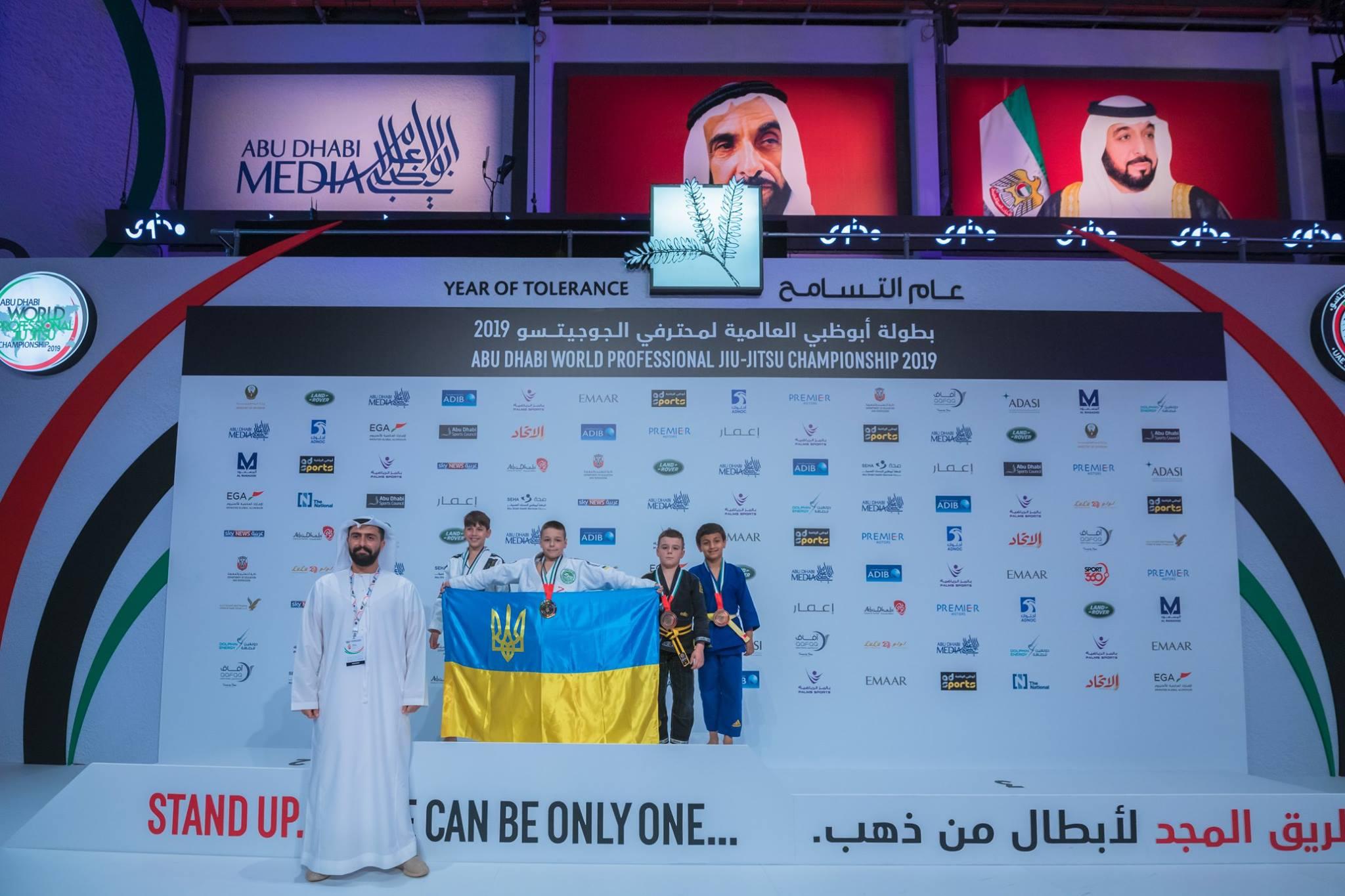 Прикарпатські спортсмени привезли 5 золотих, 1 срібну та 2 бронзові медалі з чемпіонату світу з джиу джитсу
