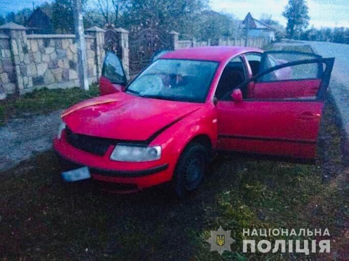 На Франківщині водій на смерть збив неповнолітнього і втік (ФОТО)