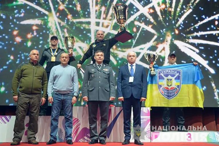 Третє місце виборов поліціянт з Франківщині на турнірі з рукопашного бою (ФОТО)