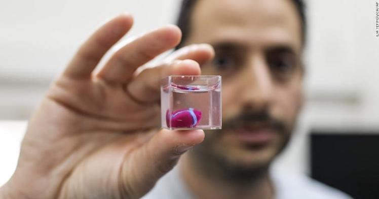 Науковці вперше надрукували людське серце на 3D-принтері