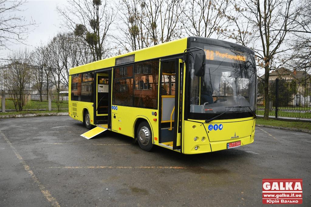 Не для містян: до Франківська прибув новий білоруський автобус (ФОТО)