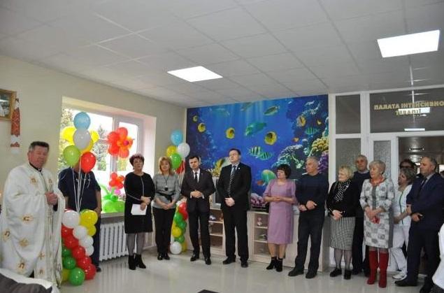 У Городенці відкрили оновлене дитяче відділення лікарні