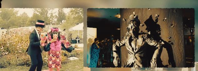 """Живі скульптури зі сімох країн """"захоплять"""" центр Івано-Франківська (ВІДЕО)"""