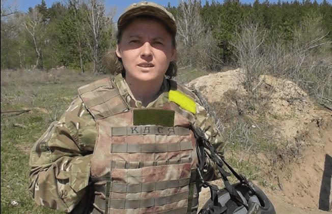 Чому чемпіонка Європи з Коломиї пішла захищати Україну в зоні ООС (відеофакт)
